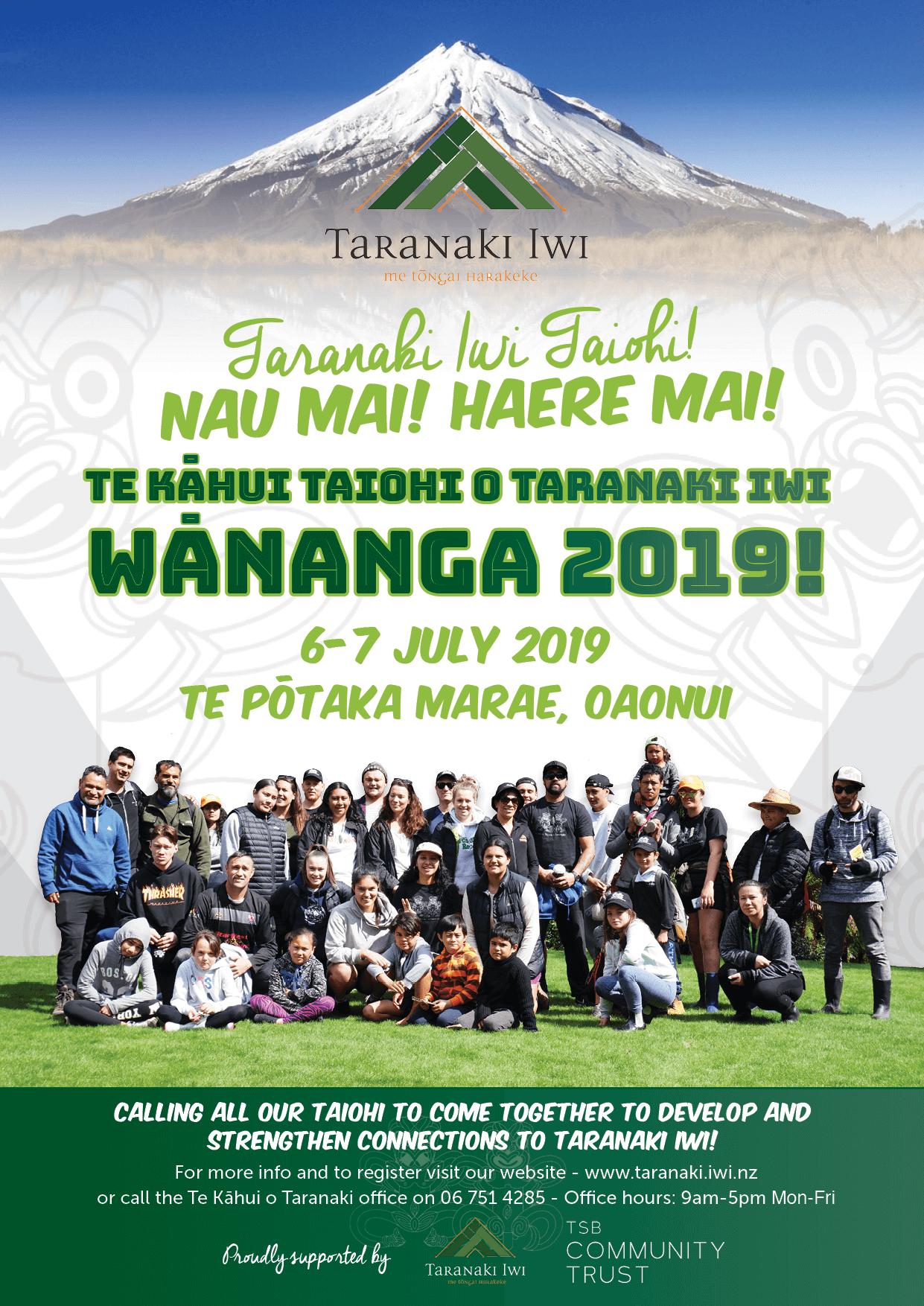 Te Kāhui Taiohi o Taranaki Iwi Wānanga 6-7 July 2019