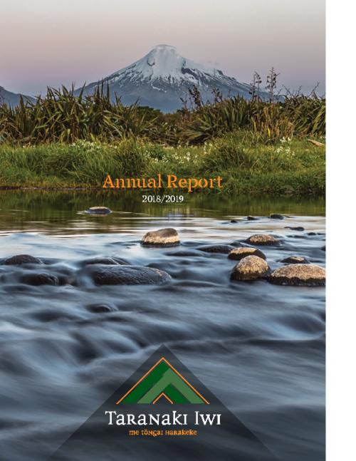 Te Kāhui o Taranaki 2019 Annual Report